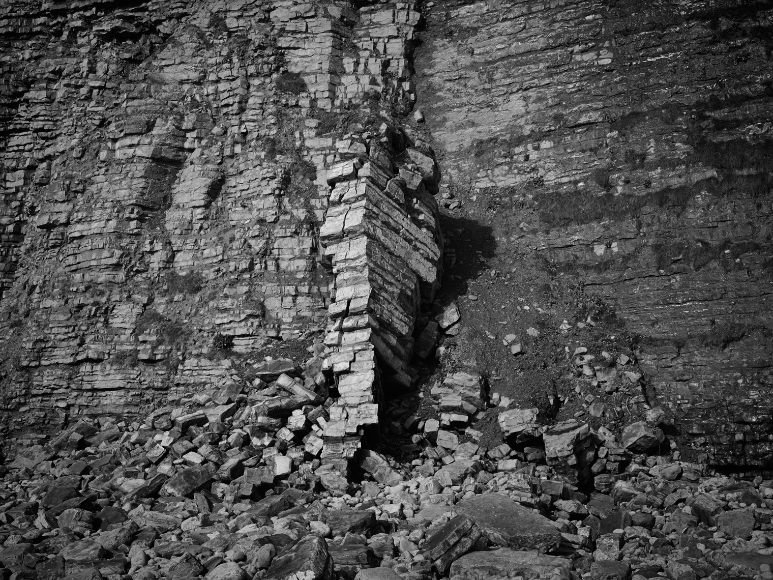 Jon Wyatt Photography - Landslide in  Llantwit Major, South Wales