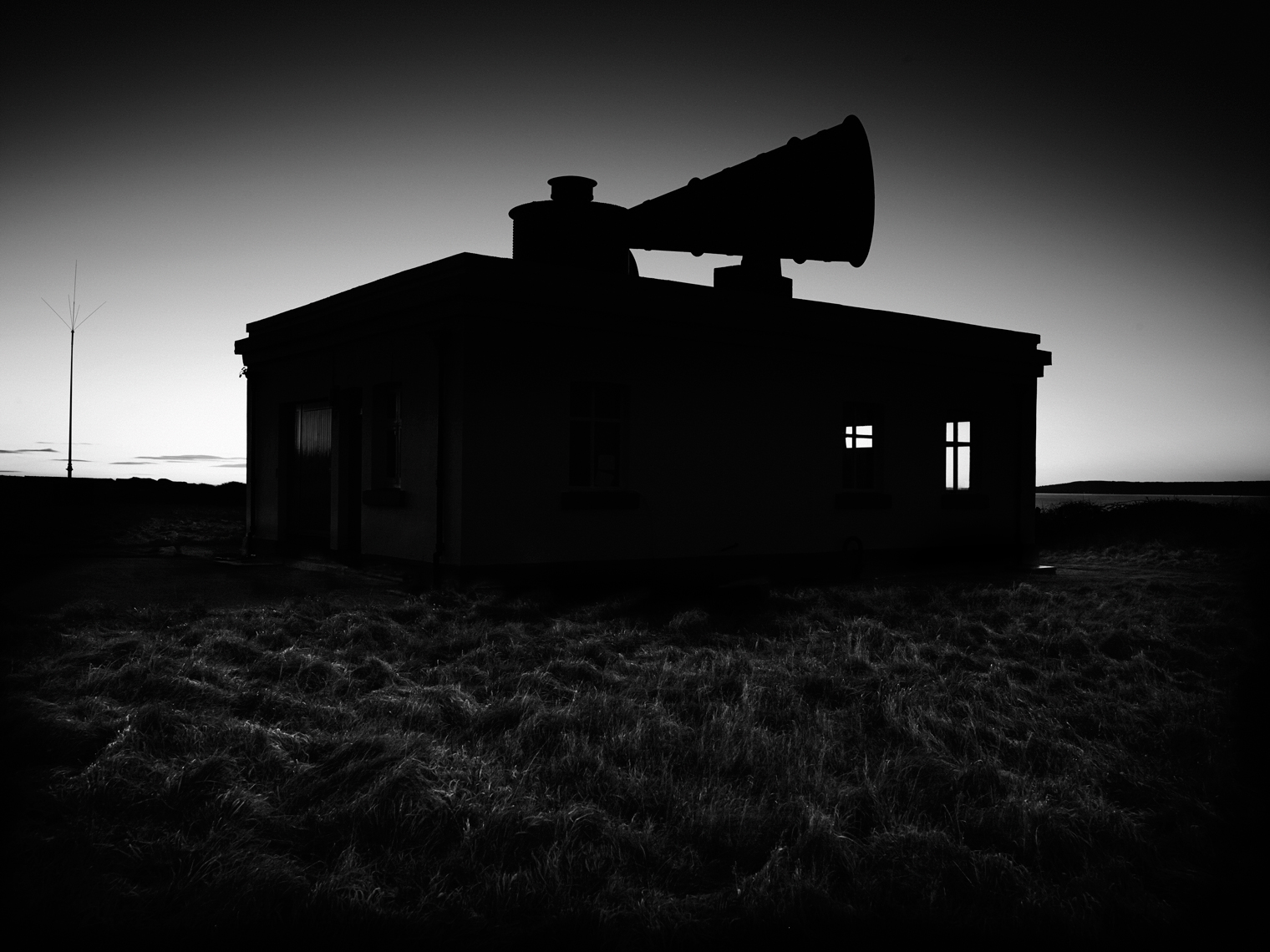 Jon Wyatt Photography - Fog Signal Horn at Nash Point Lighthouse, South Wales