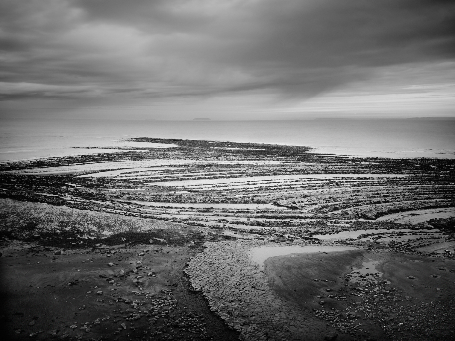 Jon Wyatt Photography - coastline at Lilstock Pill in North Somerset