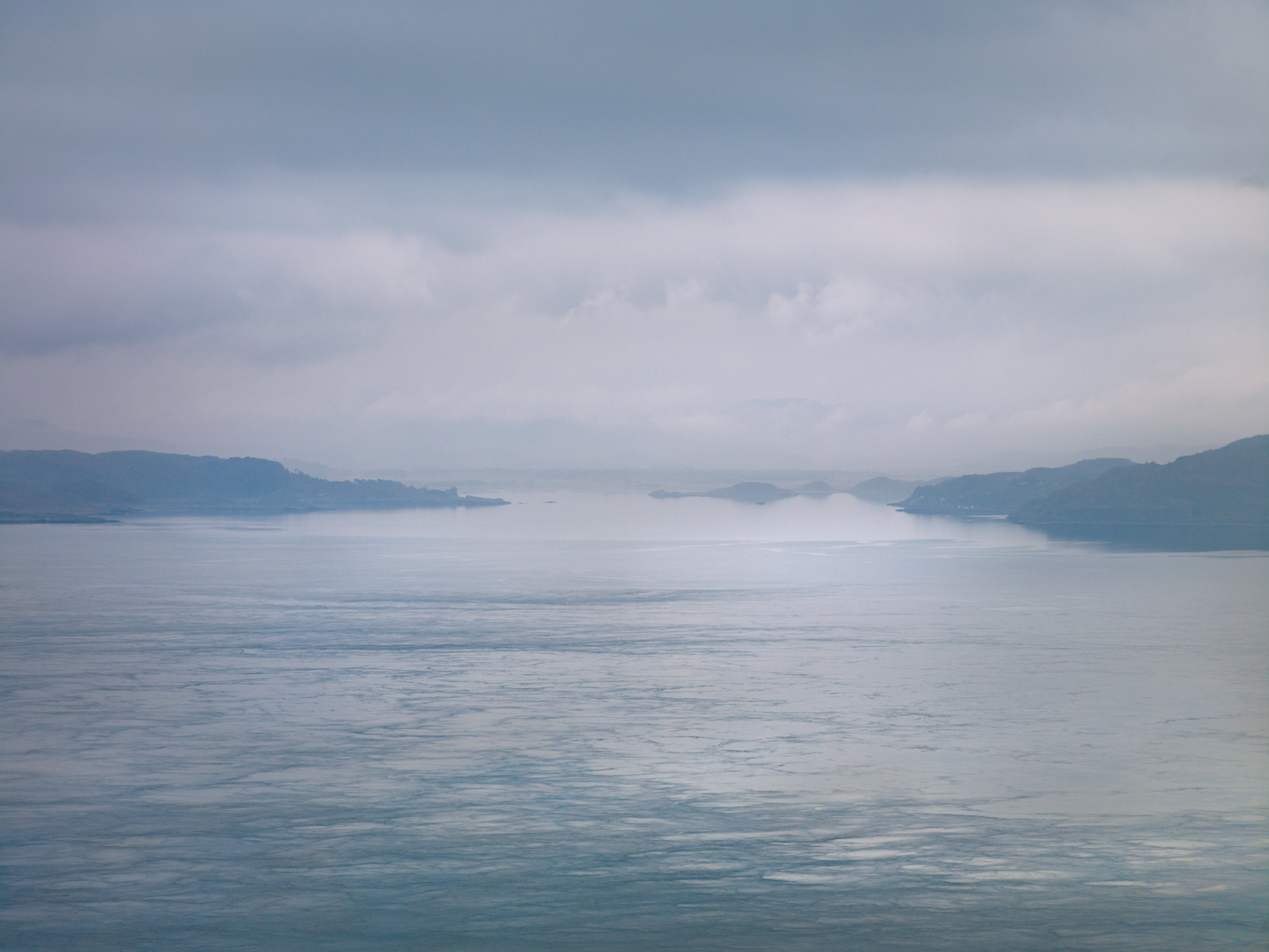 Jon Wyatt Photography - Sound of Jura VI - seascape of the Sound of Jura looking towards the Scottish mainland