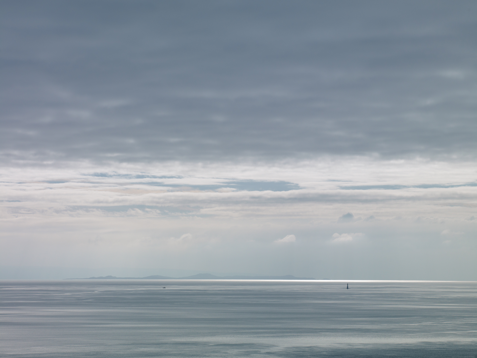 Jon Wyatt Photography - Sound of Jura VII - seascape of the Sound of Jura looking towards the Scottish mainland