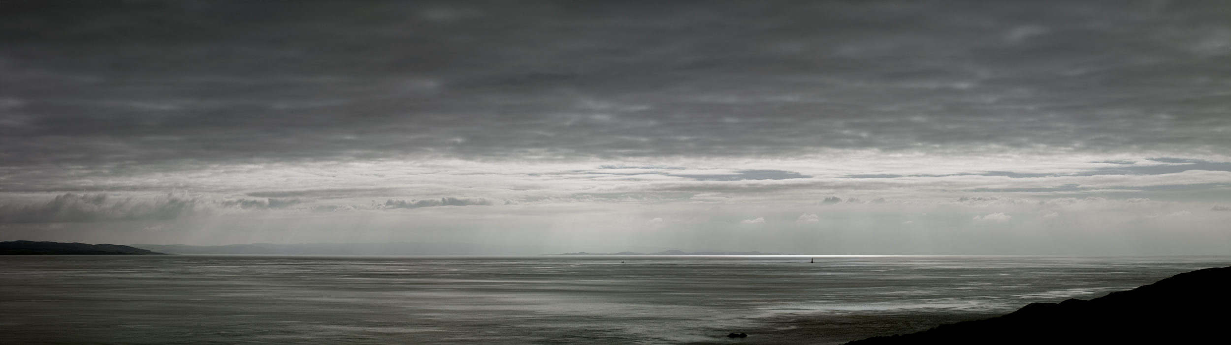 Jon Wyatt Photography - Sound of Jura VIII - seascape of the Sound of Jura looking towards the Scottish mainland