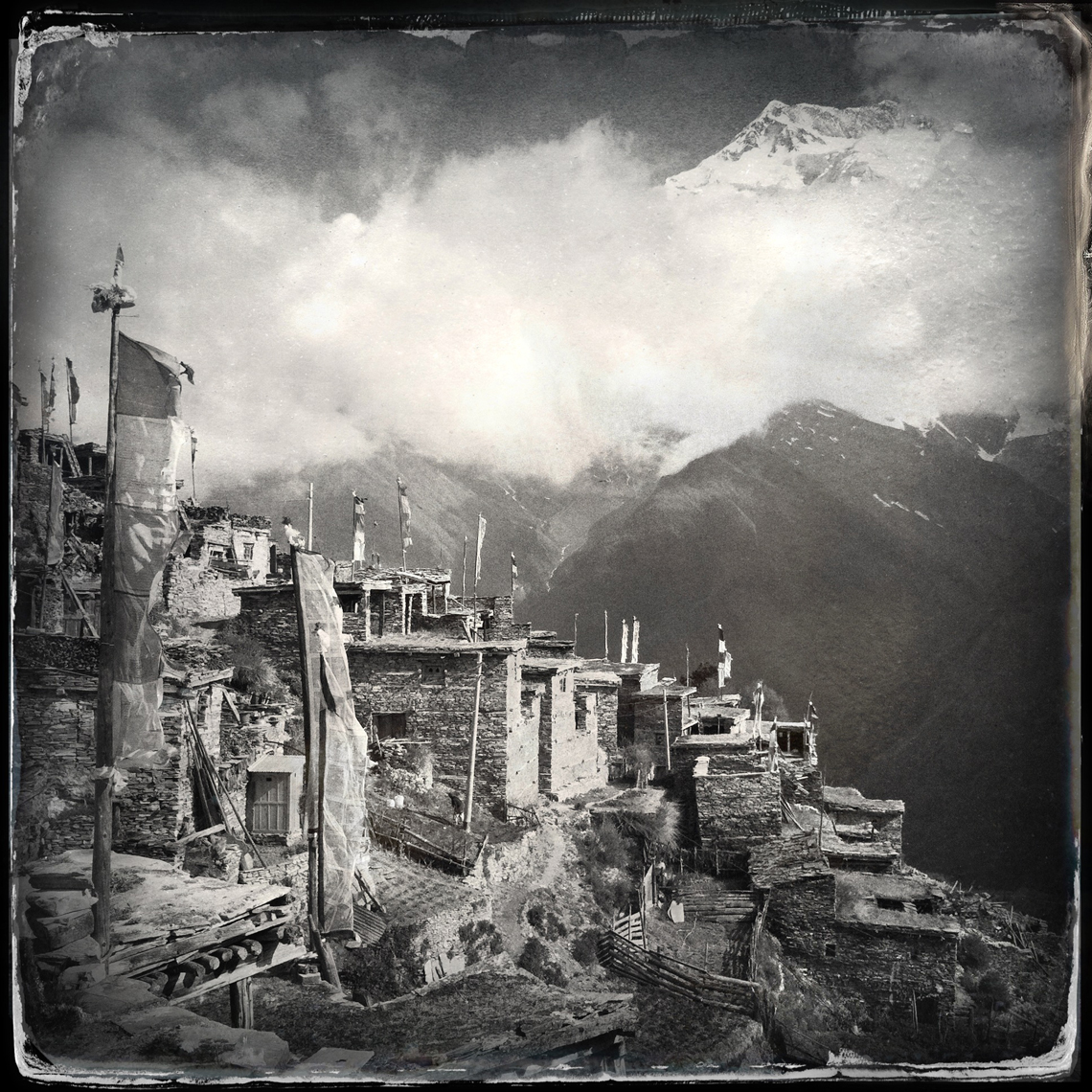 Jon Wyatt Photography - Village in Nepal. Hipstamatic