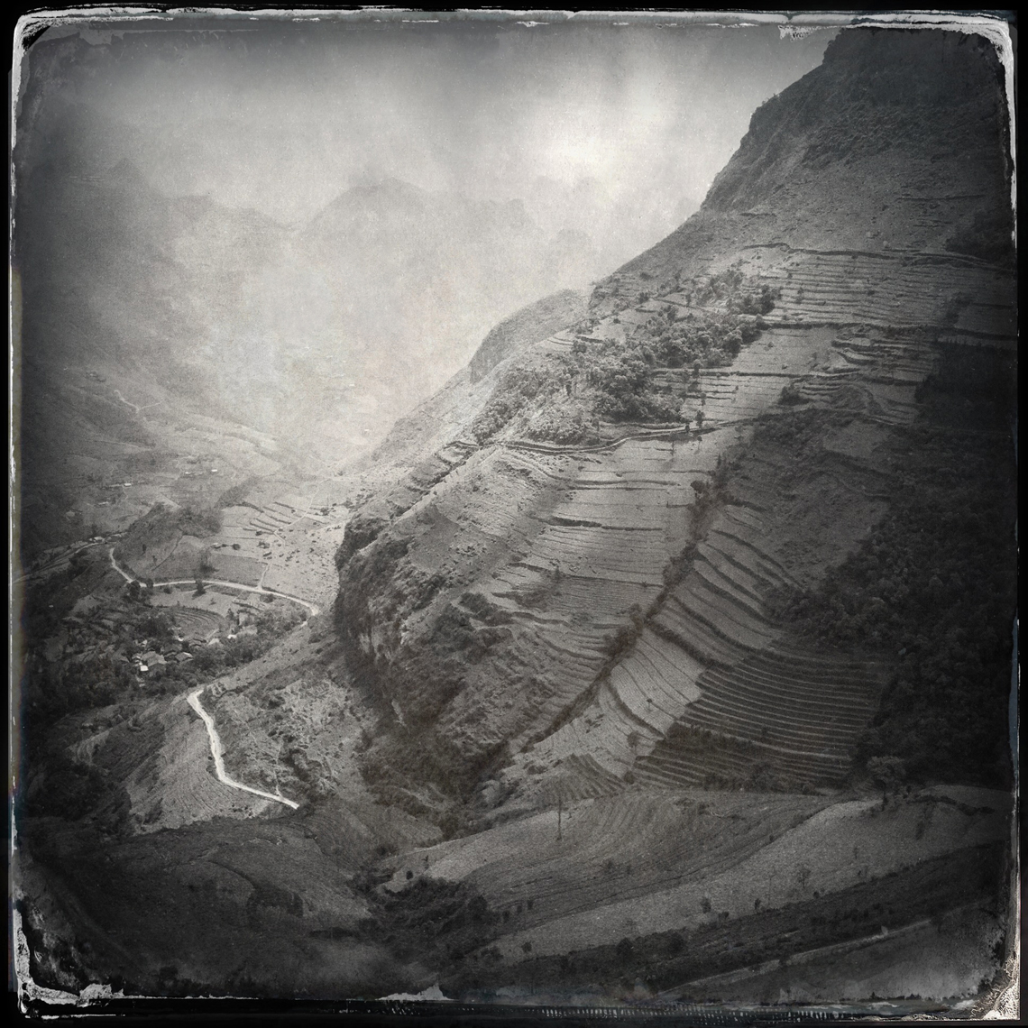 Jon Wyatt Photography - Mountains near Dong Van on the Chinese border, Ha Giang Province, North East Vietnam