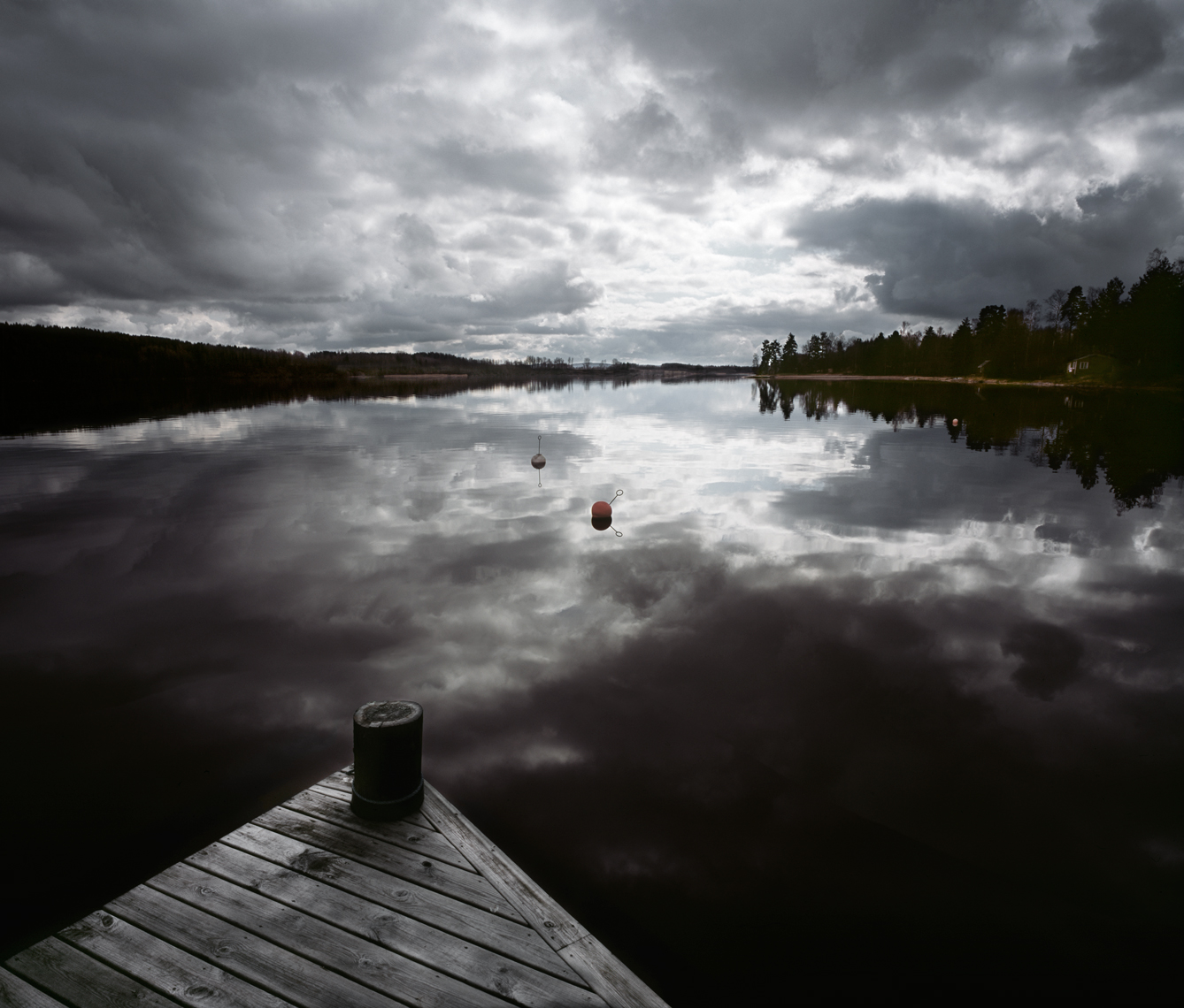 Jon Wyatt Photography - Jetty on Lake Fryken, Varmland, in Norway