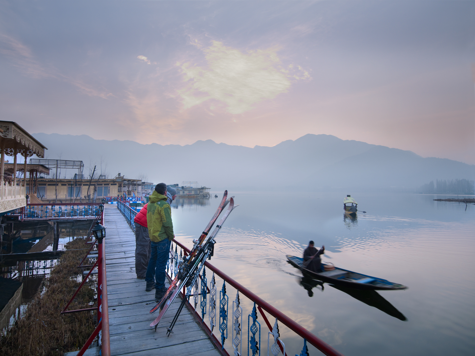 Jon Wyatt Photography - Dhal Lake, Srinagar, Kashmir