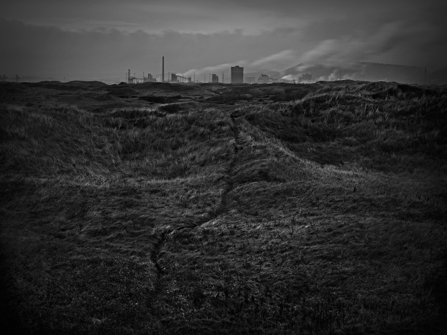 Jon Wyatt Photography - Port Talbot Steelworks and Kenfig Dunes, South Wales