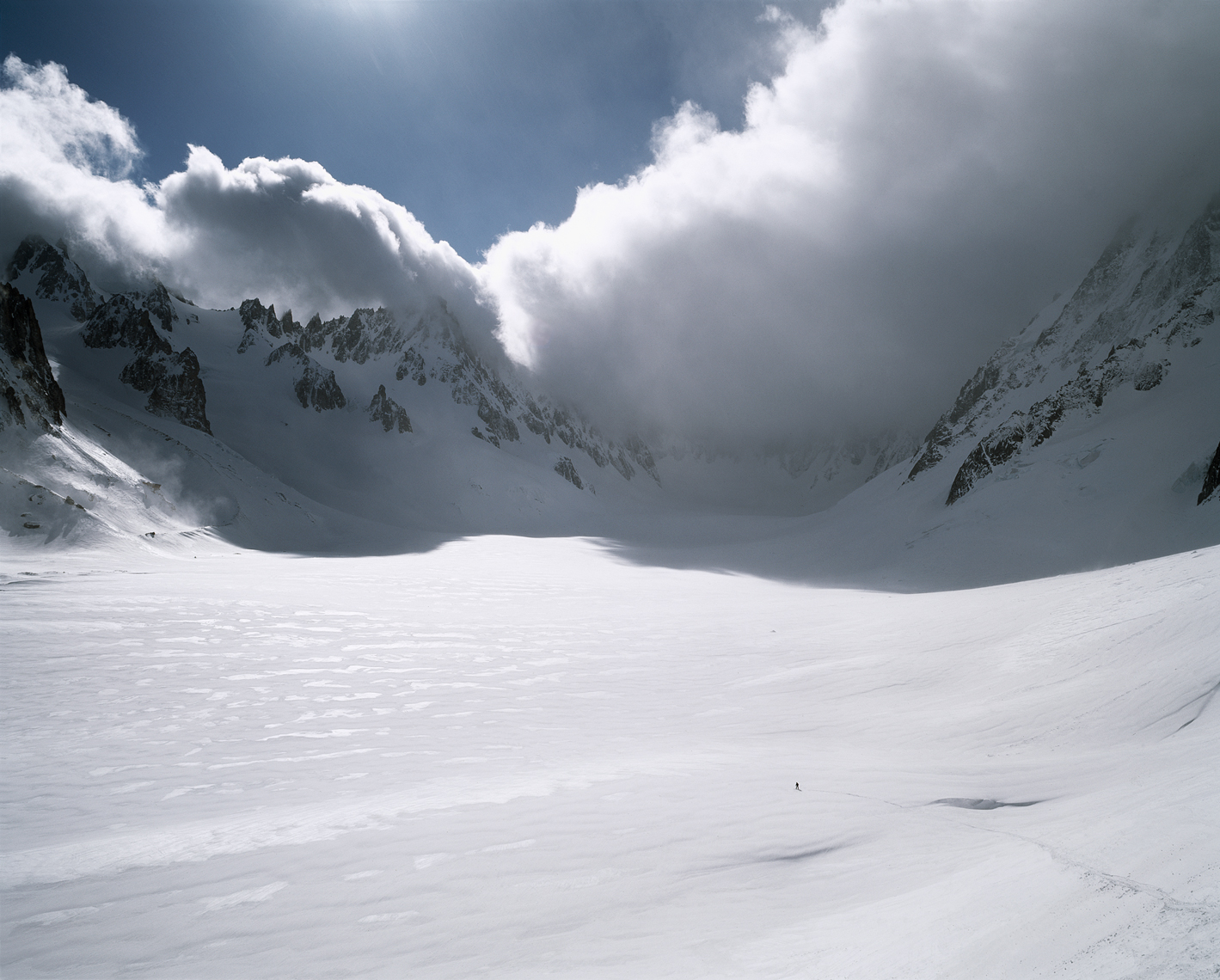 Jon Wyatt Photography - Snowboarder on the Glacier d