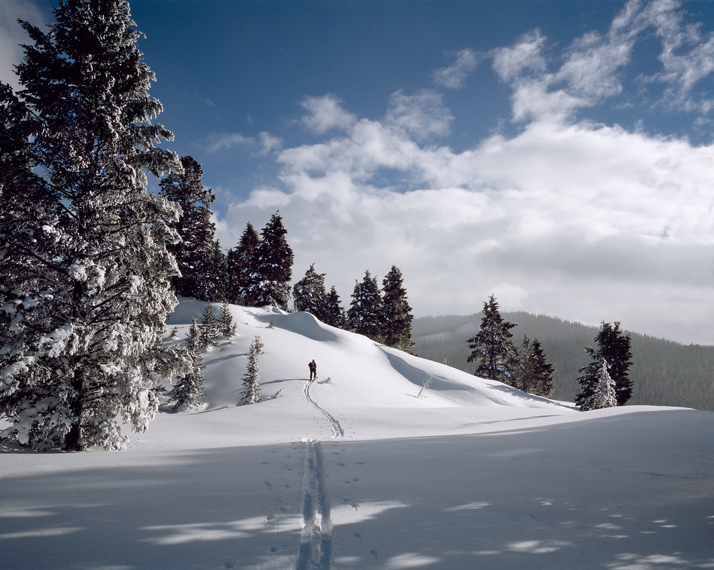 Jon Wyatt Photography - Ski tourer in West Yellowstone,  Montana